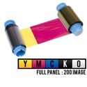 Picture of Javelin J200I/J230I 4-color ribbon/dye film (YMCKO) - 200 print. NBS TECH