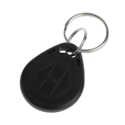 Picture of Black Prox RFID (proximity) key fob 125 kHz.