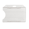 Picture of Cardholder/carrying face open plastic frosted (horizontal/landscape)