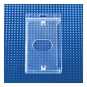 Picture of Cardholder/carrying case rigid plastic with lock clear (vertical/portrait)