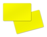 Picture of Blank yellow cards - CR80 (WHITE CORE)